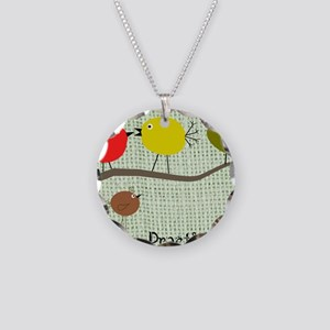 NP tote bag 3 Necklace Circle Charm