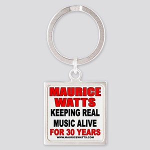 32 Year T-Shirt Back Square Keychain