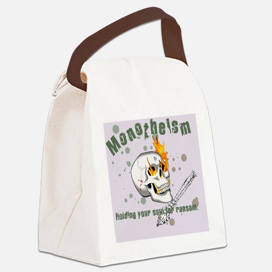 Monotheism LGtray Canvas Lunch Bag