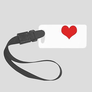 I Love The Bachelorette Small Luggage Tag