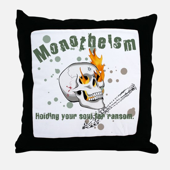 monothesimTrans Throw Pillow