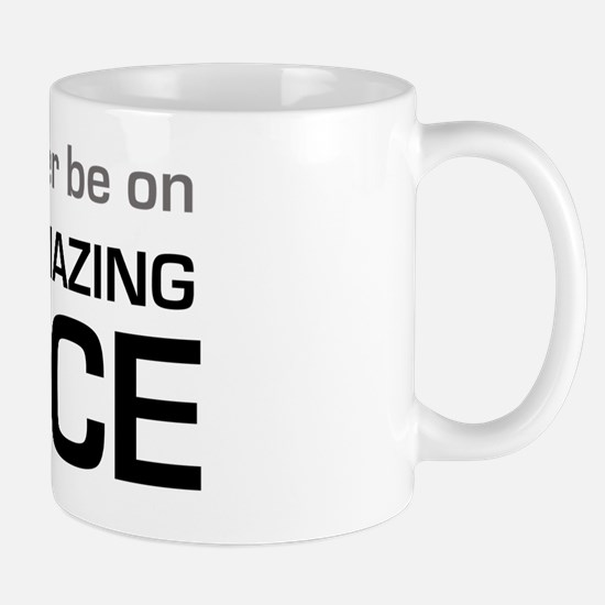 Id Rather be on The Amazing Race Mug