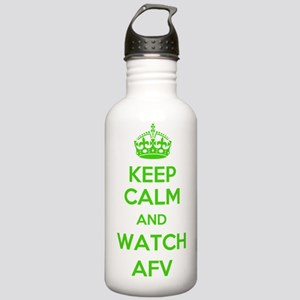 Keep Calm and Watch AF Stainless Water Bottle 1.0L