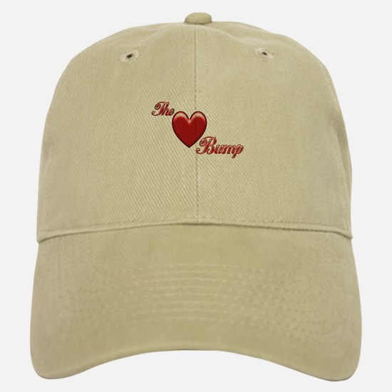 The Love Bump Baseball Baseball Cap