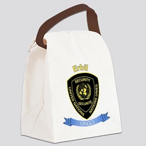 UNGCI Sector Erbil Canvas Lunch Bag