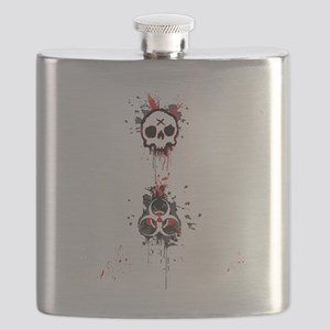Here zombie, zombie Flask