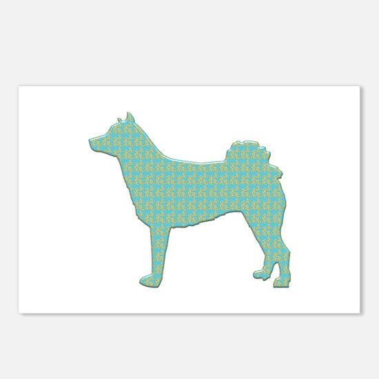 Paisley Norrbottenspets Postcards (Package of 8)