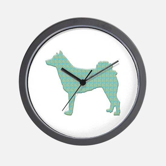 Paisley Norrbottenspets Wall Clock