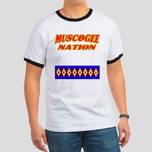 MUSCOGEE NATION Ringer T