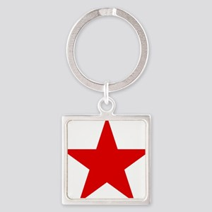 Soviet Air Force roundel Square Keychain