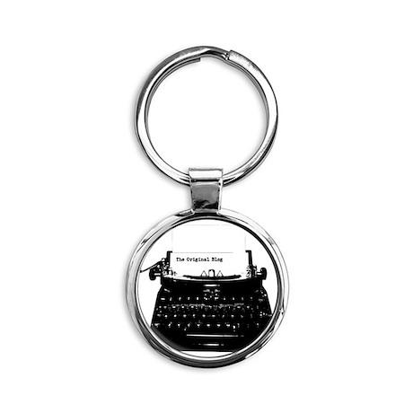 Original Blog3 Round Keychain