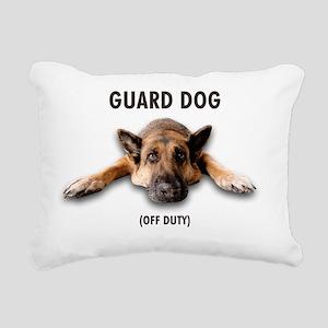 Guard Dog Rectangular Canvas Pillow