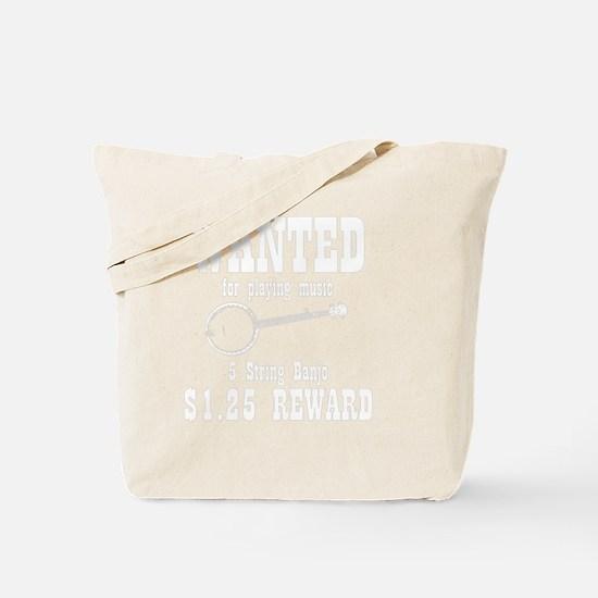 Wanted Banjo Tote Bag