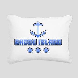Rhode Island Rectangular Canvas Pillow