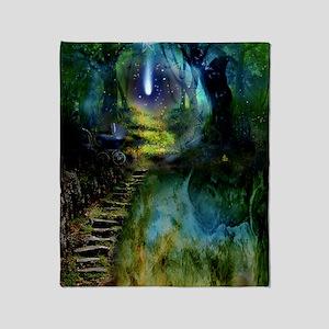 Mystical Entry Throw Blanket