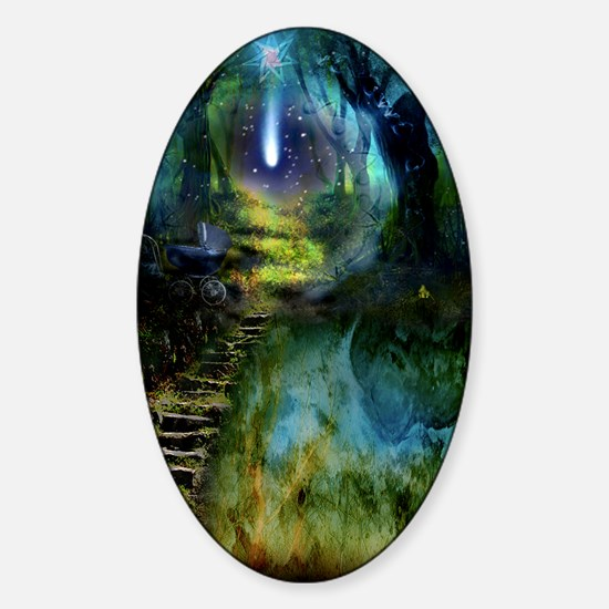 Mystical Entry Sticker (Oval)
