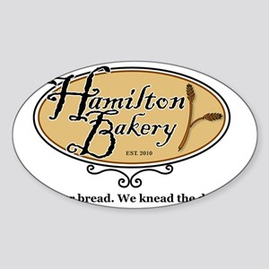 HB buy our bread Sticker (Oval)