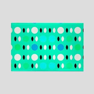 Green Perception Designer Rectangle Magnet