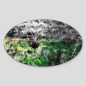 Reflections Sticker (Oval)