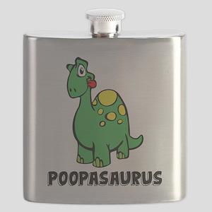 Poopasurus Flask