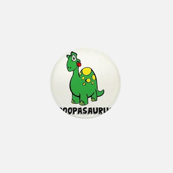 Poopasurus Mini Button