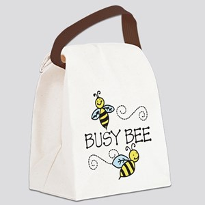 Busy Bees Canvas Lunch Bag