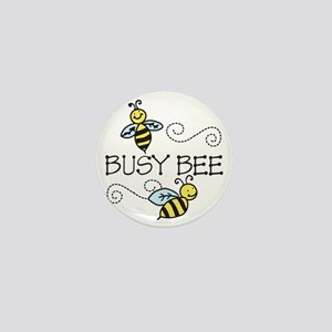 Busy Bees Mini Button