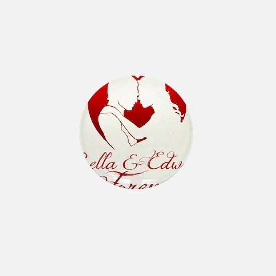 Bella  Edward Forever W/Heart Mini Button