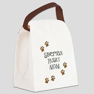 Siberian Husky Mom Canvas Lunch Bag