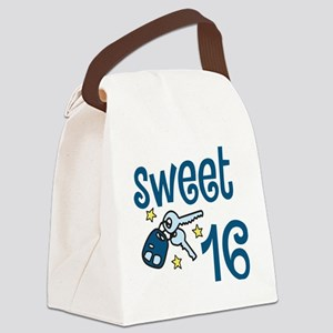 Sweet 16 Canvas Lunch Bag
