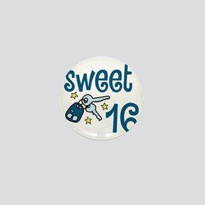 Sweet 16 Mini Button