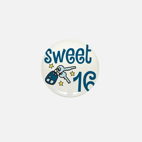 Sweet 16 Mini Button