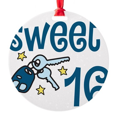 Ornaments for Sweet 16