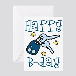 Happy B-day Greeting Card