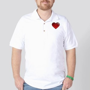 I Heart Cozumel Golf Shirt