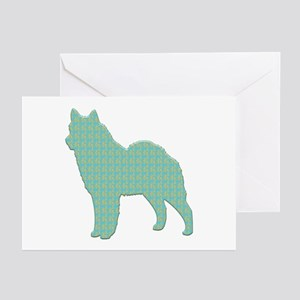Paisley Lapphund Greeting Cards (Pk of 10)