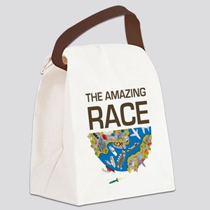 The Amazing Race Transportation Canvas Lunch Bag