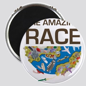 The Amazing Race Transportation Magnet