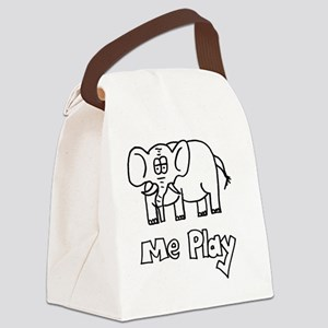 MePlay Elephant Canvas Lunch Bag