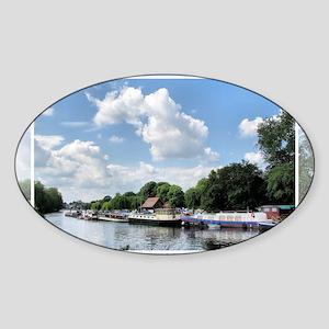 Boats5 Sticker (Oval)