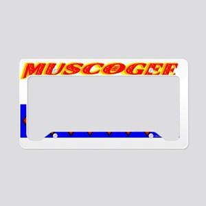 MUSCOGEE NATION License Plate Holder