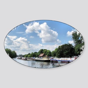 Boats3 Sticker (Oval)