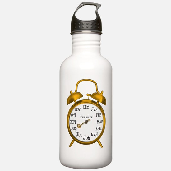 Due in Aug Gold Alarm Water Bottle