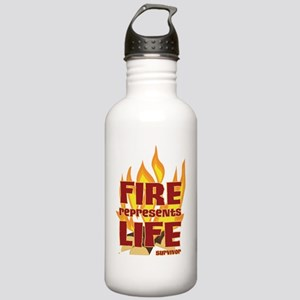 Fire Represents Life Stainless Water Bottle 1.0L