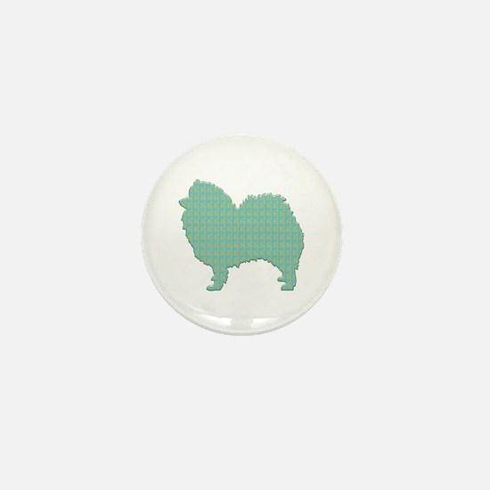 Paisley Spitz Mini Button