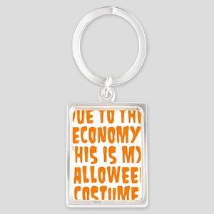 Halloween Costume Portrait Keychain