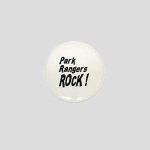 Park Rangers Rock ! Mini Button