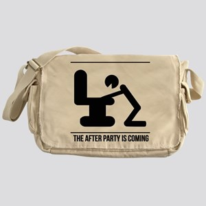 After party is coming Messenger Bag