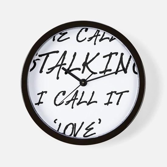 Stalking Wall Clock