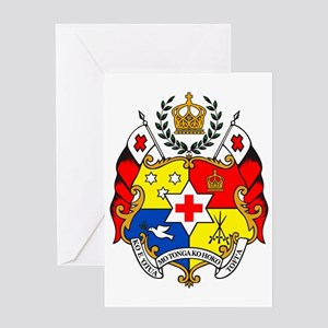The Coat of Arms - Sila o Tonga Greeting Card
